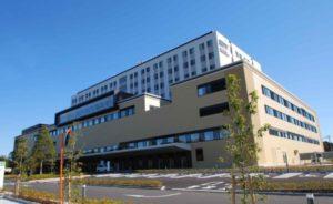 1話の台田総合病院は千葉県松戸市の「松戸市立総合医療センター」
