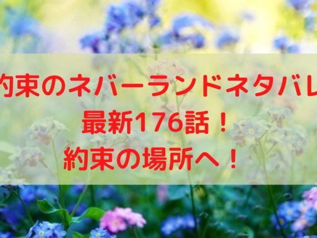 約束のネバーランドネタバレ最新176話&177話!約束の場所へ!